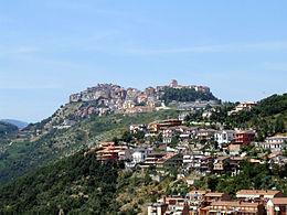 fotografia di Bellegra dalla valle - foto di Claudius_Ziehr